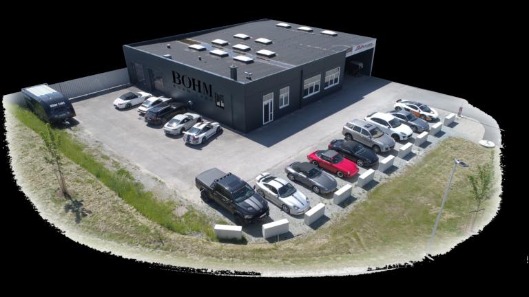 Firmengebäude Böhm Cars McLaren 2021