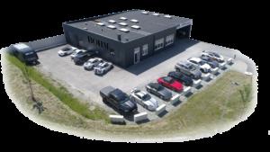 Firmengebäude Böhm Cars McLaren